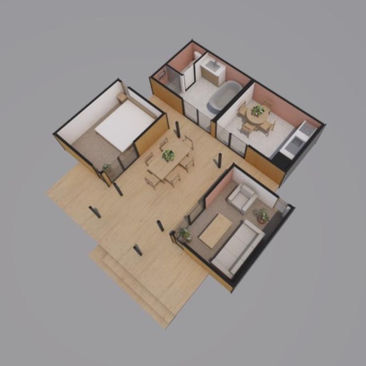 Beachlander Render Floor Plan 750x750