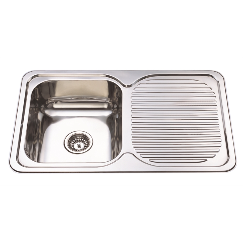 Sink with Drainer Project Forte 800x500mm